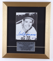 Ted Williams Signed Red Sox 12x14 Custom Framed Photo Display (PSA LOA) (See Description) at PristineAuction.com