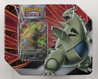 Pokémon TCG: V Strikers Tin - Tyranitar V at PristineAuction.com