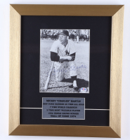 Mickey Mantle Signed Yankees 12x14 Custom Framed Photo Display (PSA LOA) (See Description) at PristineAuction.com