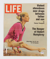 Cathy Rigby Signed Life Magazine Cover (PSA COA) (See Description) at PristineAuction.com
