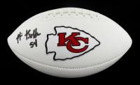 Nick Bolton Signed Chiefs Logo Football (Beckett Hologram) at PristineAuction.com