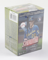 2021 Topps Stadium Club Baseball Blaster Box With (8) Packs at PristineAuction.com