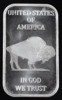 1 Troy Ounce .999 Fine Silver Liberty Bullion Bar at PristineAuction.com