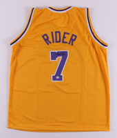 Isaiah Rider Signed Jersey (PSA COA) at PristineAuction.com