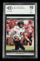 Patrick Mahomes II 2017 Leaf Draft #56 (BCCG 10) at PristineAuction.com