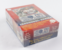 1991 Pro Set World League Football Wax Box with (4) Packs at PristineAuction.com