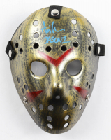 """Ari Lehman Signed """"Friday the 13th"""" Mask Inscribed """"Jason 1"""" (Beckett Hologram) at PristineAuction.com"""