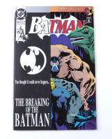 "1993 ""Batman"" Issue #497 DC Comic Book at PristineAuction.com"