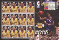Kobe Bryant Uncut Postage Stamp Sheet at PristineAuction.com