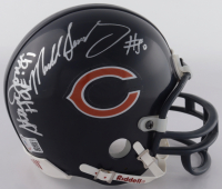 Bears Mini Helmet Signed By (5) with Mike Singletary, Stan Jones, Dick Butkus, Gale Sayers & Mike Ditka with Multiple Incsriptions (Beckett LOA) (See Description) at PristineAuction.com