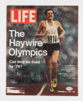 Frank Shorter Signed Life Magazine Cover (PSA COA) (See Description) at PristineAuction.com