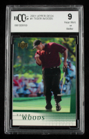 Tiger Woods 2001 Upper Deck #1 RC (BCCG 9) at PristineAuction.com
