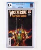 """2019 """"Wolverine: Infinity Watch"""" Issue #1 Marvel Comic Book (CGC 9.4) at PristineAuction.com"""