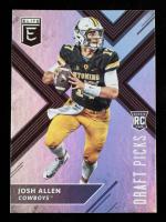 Josh Allen 2018 Elite Draft Picks #103A RC at PristineAuction.com