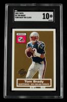 Tom Brady 2005 Topps Turn Back the Clock #6 (SGC 10) at PristineAuction.com