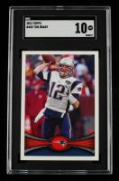 Tom Brady 2012 Topps #440A (SGC 10) at PristineAuction.com