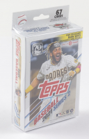 2021 Topps Baseball Series 2 Hanger Box of (67) Cards (See Description) at PristineAuction.com