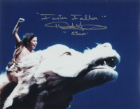 """Noah Hathaway Signed """"The Never Ending Story"""" 11x14 Photo Inscribed """"Atreyu"""" & """"Faster Falkor"""" (AutographCOA COA) at PristineAuction.com"""