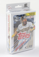 2021 Topps Baseball Series 2 Hanger Box of (67) Cards at PristineAuction.com