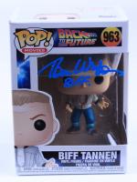 "Tom Wilson Signed Pop! Movies ""Back to the Future"" #963 Biff Tannen Funko Pop! Vinyl Figure Inscribed ""Biff"" (Beckett COA) (See Description) at PristineAuction.com"