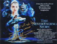 """Noah Hathaway Signed """"The Never Ending Story"""" 11x14 Photo Inscribed """"Atreyu"""" & """"I will note die, I am a warrior"""" (AutographCOA COA) at PristineAuction.com"""