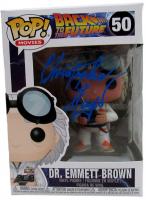 "Christopher Lloyd Signed Pop! Movies ""Back to the Future"" #50 Dr. Emmett Brown Funko Pop! Vinyl Figure (JSA COA) at PristineAuction.com"