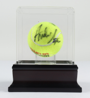 Andre Agassi Signed Wilson U .S. Open Tennis Ball with Display Case (PSA LOA) at PristineAuction.com