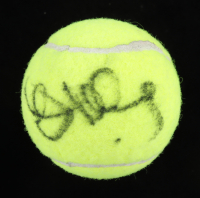 John McEnroe Signed Wilson Practice Tennis Ball with Display Case (PSA LOA) at PristineAuction.com