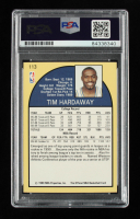 Tim Hardaway Signed 1990-91 Hoops #113 RC (PSA Encapsulated) (See Description) at PristineAuction.com