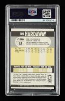 Tim Hardaway Signed 1990-91 Fleer #63 RC (PSA Encapsulated) at PristineAuction.com