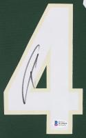 Giannis Antetokounmpo Signed Bucks 35x43 Custom Framed Jersey Display (Beckett COA) at PristineAuction.com