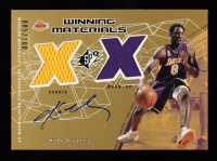 Kobe Bryant 2002-03 SPx Winning Materials Autographs #KBA #5/100 at PristineAuction.com