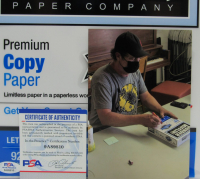 "Rainn Wilson Signed The Office ""Dunder Mifflin Premium Copy Paper"" Pack (PSA COA) at PristineAuction.com"