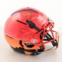 "Steve Young Signed Full-Size Authentic On-Field F7 Helmet Inscribed ""HOF 2005"" (Radtke Hologram) (See Description) at PristineAuction.com"