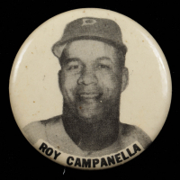 Vintage 1950's Roy Campanella Dodgers Pin at PristineAuction.com