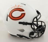 David Montgomery Signed Bears Full-Size Lunar Eclipse Alternate Speed Helmet (Beckett Hologram) (See Description) at PristineAuction.com