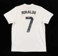 Cristiano Ronaldo Signed Real Madrid CF Jersey (Beckett COA) at PristineAuction.com