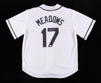 Austin Meadows Signed Jersey (JSA COA) at PristineAuction.com
