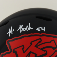 Nick Bolton Signed Chiefs Full-Size Eclipse Alternate Speed Helmet (Beckett Hologram) at PristineAuction.com