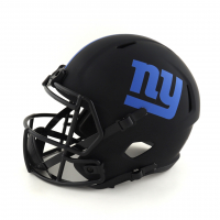 """Brandon Jacobs Signed Giants Full-Size Eclipse Alternate Speed Helmet Inscribed """"2x SB Champs"""" (Beckett COA) at PristineAuction.com"""
