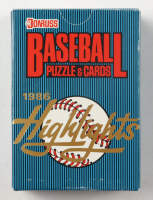 1986 Donruss Highlights Baseball Complete Set with (56) Cards at PristineAuction.com