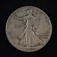 1942 Walking Liberty Silver Half Dollar at PristineAuction.com