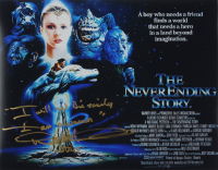 """Noah Hathaway Signed """"The Never Ending Story"""" 11x14 Photo Inscribed """"Atreyu"""" & """"I will note die early, I am a warrior"""" (AutographCOA COA) at PristineAuction.com"""