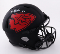 Nick Bolton Signed Chiefs Full-Size Eclipse Alternate Speed Helmet (Beckett Hologram) (See Description) at PristineAuction.com