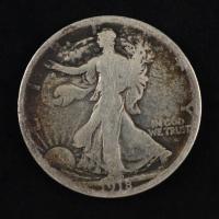 1918 Walking Liberty Silver Half Dollar at PristineAuction.com