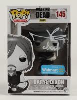 "Norman Reedus Signed ""The Walking Dead"" #145 Daryl Dixon Funko Pop! Black & White Version Vinyl Figure Inscribed ""Daryl"" (Radtke COA) (See Description) at PristineAuction.com"