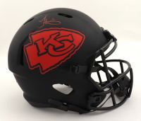 Tyreek Hill Signed Chiefs Full-Size Eclipse Alternate Speed Helmet (Beckett COA) at PristineAuction.com