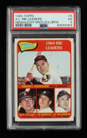 Brooks Robinson, Harmon Killebrew, Mickey Mantle, Dick Stuart 1965 Topps #5 AL RBI Leaders (PSA 5) at PristineAuction.com