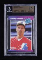 Randy Johnson 1989 Donruss #42 RC RR (BGS 9.5) at PristineAuction.com