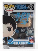 Luke Kuechly Signed Panthers #53 Funko Pop! Vinyl Figure (Beckett COA) (See Description) at PristineAuction.com
